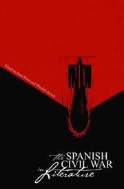 Cover of: Spanish Civil War in Literature (Studies in Comparative Literature Series) (Studies in Comparative Literature Series) |