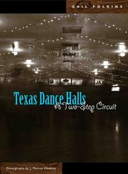 Cover of: Texas Dance Halls | Gail Folkins
