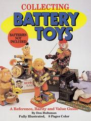 Cover of: Collecting battery toys (batteries not included)