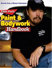 Cover of: Eddie Pauls Paint & Bodywork Handbook