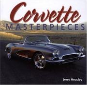 Cover of: Corvette Masterpieces: Dream Cars You'd Love to Own
