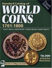 Cover of: Standard Catalog of World Coins 1701-1800 | Colin, II Bruce