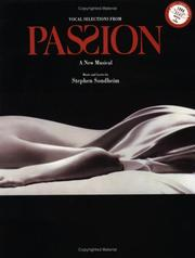 Cover of: Passion (Vocal Selections)