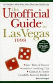 Cover of: The Unofficial Guide to Las Vegas '98