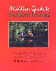 Cover of: A paddler's guide to southern Georgia