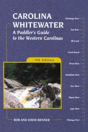 Cover of: Carolina whitewater