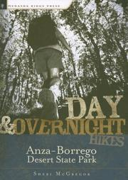 Cover of: Day & Overnight Hikes in Anza-Borrego Desert State Park (Day & Overnight Hikes - Menasha Ridge)