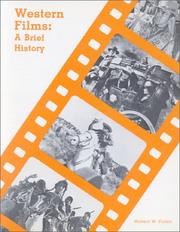 Cover of: Western Films a Brief History