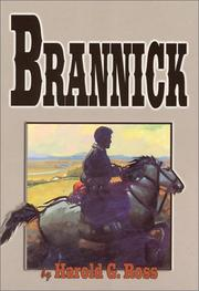 Cover of: Brannick and the untamed West | Harold G. Ross