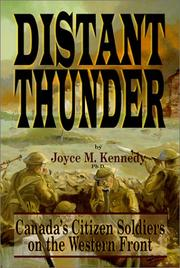 Cover of: Distant thunder | Joyce M. Kennedy