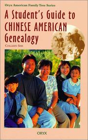 Cover of: A student's guide to Chinese American genealogy