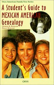Cover of: A student's guide to Mexican American genealogy