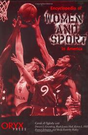 Cover of: Encyclopedia of women and sport in America |
