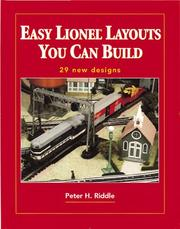 Cover of: Easy Lionel layouts you can build