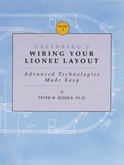 Cover of: Greenberg's wiring your Lionel layout