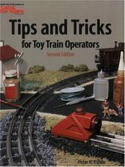 Cover of: Tips & tricks for toy train operators
