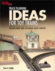 Cover of: Track planning ideas for toy trains
