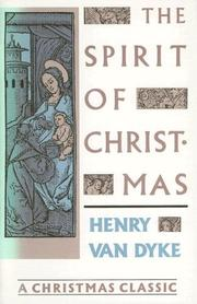 Cover of: The spirit of Christmas