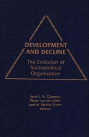 Cover of: Development and Decline |