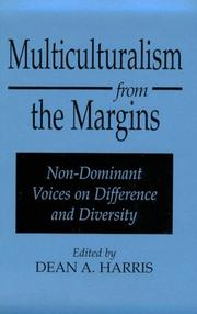 Cover of: Multiculturalism from the Margins | Dean A. Harris