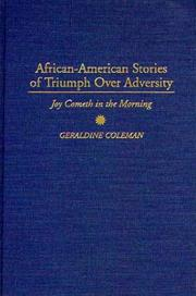 Cover of: African-American stories of triumph over adversity
