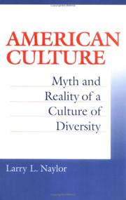 Cover of: American culture