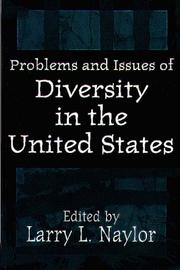 Cover of: Problems and issues of diversity in the United States