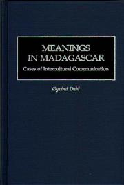 Cover of: Meanings in Madagascar | Oyvind Dahl