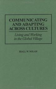 Cover of: Communicating and adapting across cultures