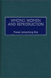 Cover of: Hmong women and reproduction