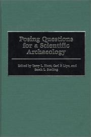 Posing Questions for a Scientific Archaeology by