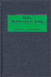Cover of: Malta, Mediterranean Bridge: