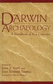 Cover of: Darwin and Archaeology |