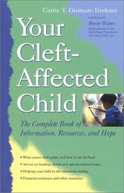 Cover of: Your Cleft-Affected Child