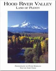 Cover of: Hood River Valley | Peter Marbach