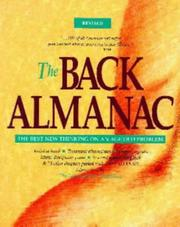Cover of: The Back Almanac/the Best New Thinking on an Age Old Problem | The Editors of Lanier Publishing