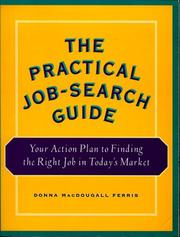 Cover of: The practical job-search guide