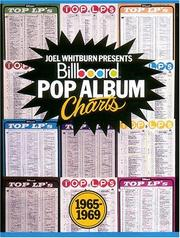 Cover of: Billboard Pop Album Charts - 1965-1969