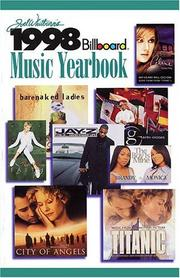 Cover of: 1998 Billboard  Music Yearbook (Billboard's Music Yearbook)