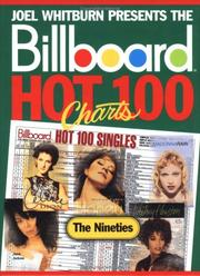 Cover of: Billboard Hot 100 charts