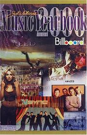 Cover of: 2000 Billboard Music Yearbook (Billboard's Music Yearbook)