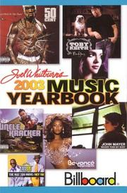 Cover of: 2003 Billboard Music Yearbook (Billboard's Music Yearbook)