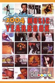 Cover of: 2004 Billboard Music Yearbook (Billboard's Music Yearbook)