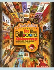 Cover of: Joel Whitburn Presents The Billboard Albums