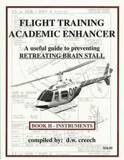 Cover of: Flight training academic enhancer