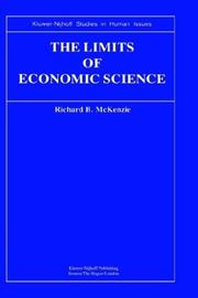 Cover of: The limits of economic science