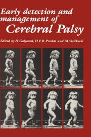 Cover of: Early detection and management of cerebral palsy |