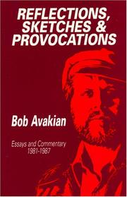 Cover of: Reflections, sketches, and provocations | Bob Avakian