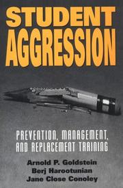 Cover of: Student aggression