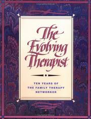 Cover of: The Evolving therapist |
